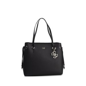 Borsa Shopper Digital Charm Logo Nero